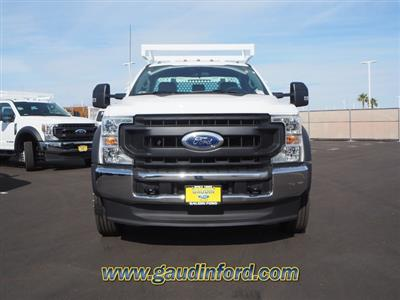 2020 Ford F-550 Regular Cab DRW 4x2, Royal Contractor Body #20T0692 - photo 3