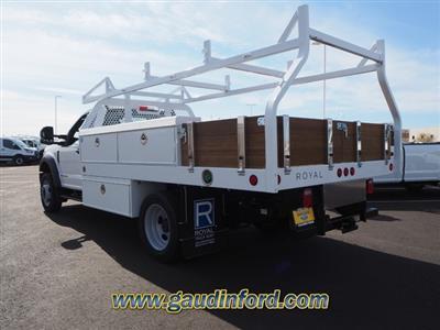 2020 F-550 Regular Cab DRW 4x2, Royal Contractor Body #20T0692 - photo 2