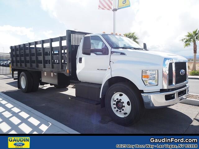2021 Ford F-650 Regular Cab DRW 4x2, CM Truck Beds Platform Body #21T0072 - photo 1