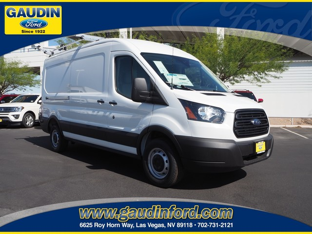2019 Transit 250 Med Roof 4x2, Adrian Steel Upfitted Cargo Van #9T1233 - photo 1