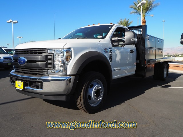 2019 F-450 Regular Cab DRW 4x2, CM Truck Beds PL Model Contractor Body #9T1551 - photo 4