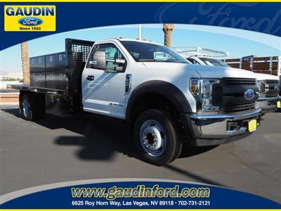 2019 F-450 Regular Cab DRW 4x2, CM Truck Beds PL Model Contractor Body #9T1551 - photo 1
