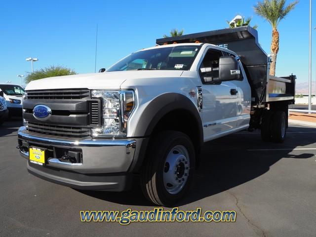 2019 F-550 Super Cab DRW 4x4, RhinoPro Truck Outfitters Dump Body #9T1575 - photo 4