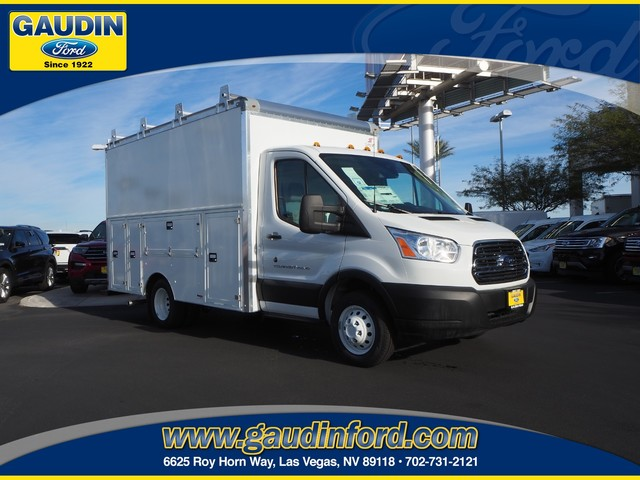 2019 Transit 350 HD DRW 4x2, Supreme Service Utility Van #9T1731 - photo 1