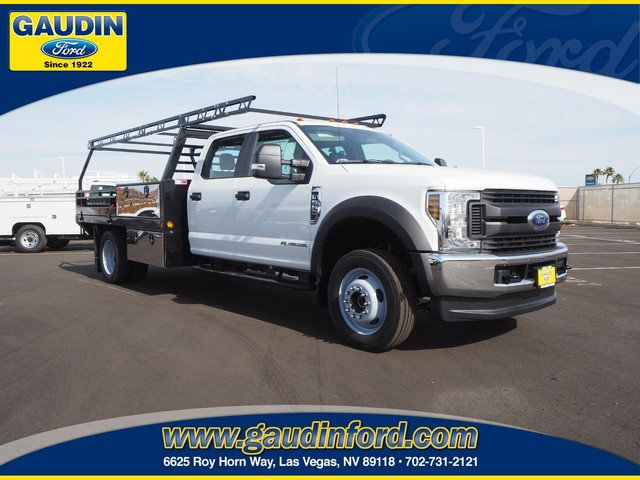 2019 F-550 Crew Cab DRW 4x4, Freedom Contractor Body #9T1819 - photo 1