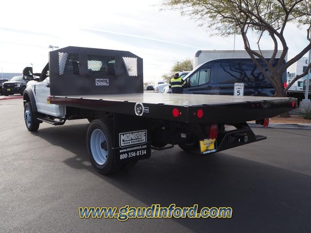 2019 Ford F-450 Regular Cab DRW 4x2, Monroe Platform Body #9T1849 - photo 1