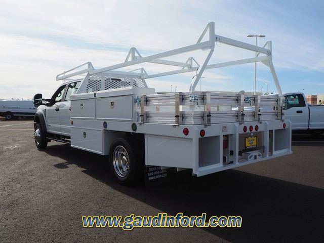 2019 F-550 Crew Cab DRW 4x2, Scelzi Contractor Body #9T1850 - photo 1