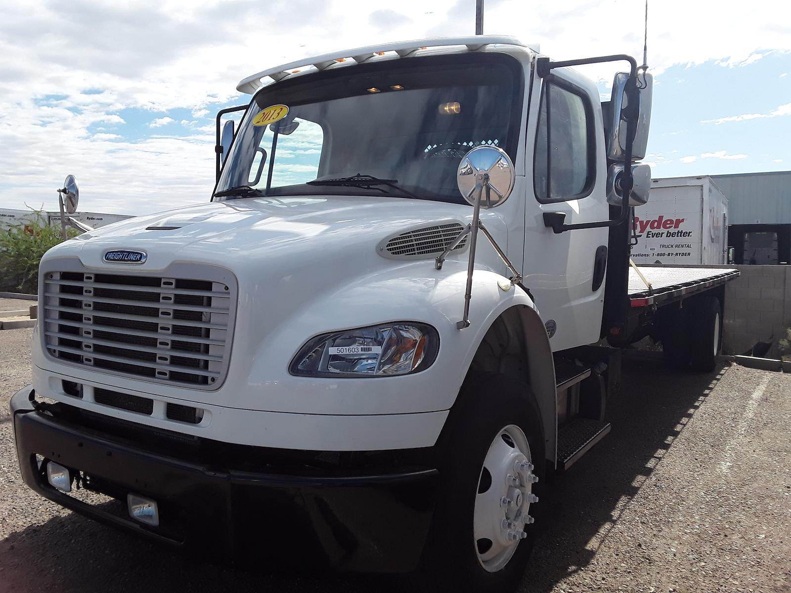 2013 Freightliner M2 106 4x2, Stake Bed #501603 - photo 1