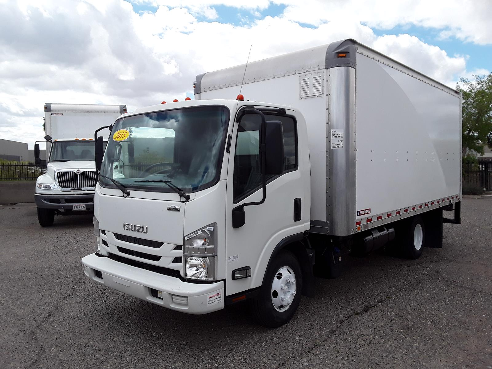 2015 Isuzu NPR Regular Cab 4x2, Dry Freight #660850 - photo 1