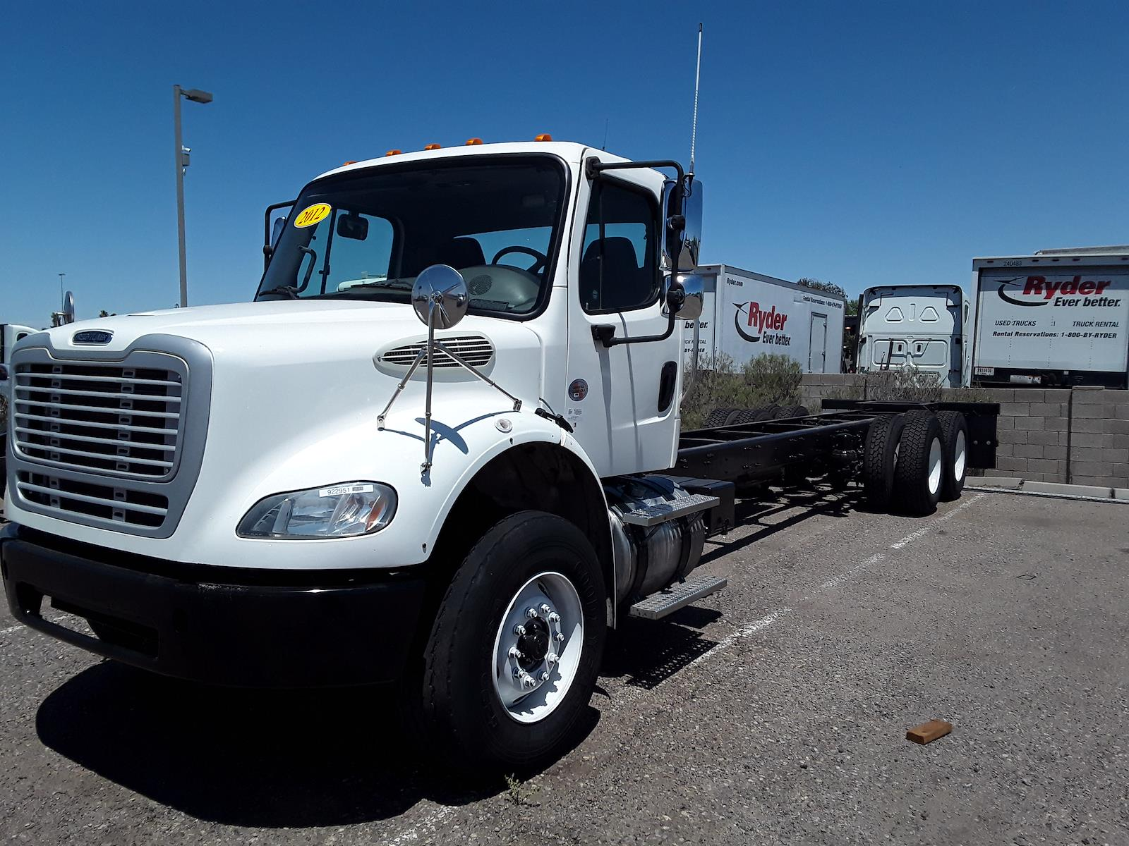 2012 Freightliner Truck 6x4, Cab Chassis #922951 - photo 1