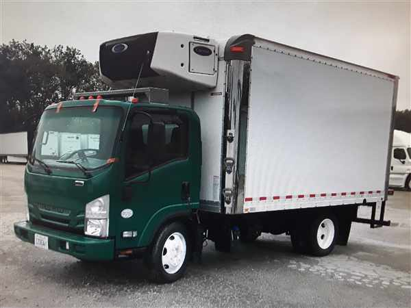2016 Isuzu NPR-XD Regular Cab 4x2, Refrigerated Body #652914 - photo 1