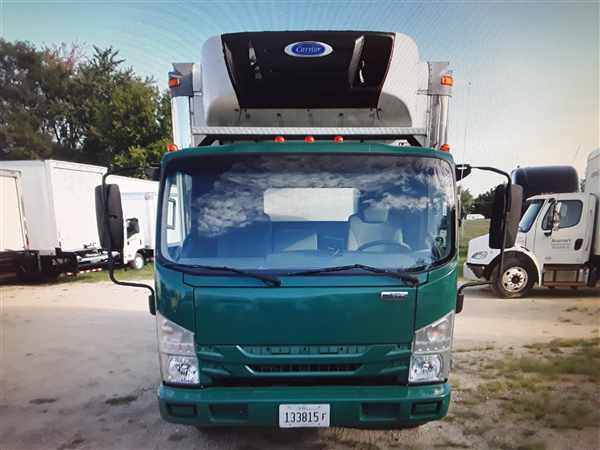 2016 Isuzu NPR-XD Regular Cab 4x2, Refrigerated Body #652918 - photo 1