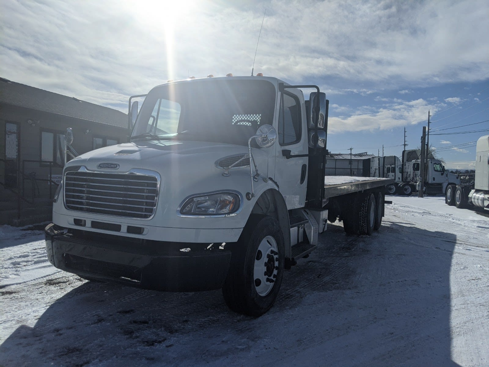 2015 Freightliner M2 106 6x4, Platform Body #340157 - photo 1
