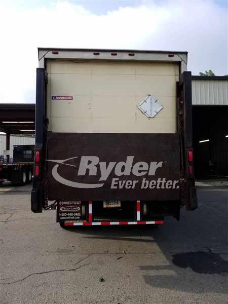 2012 International WorkStar 7600 6x4, Morgan Dry Freight #403821 - photo 1