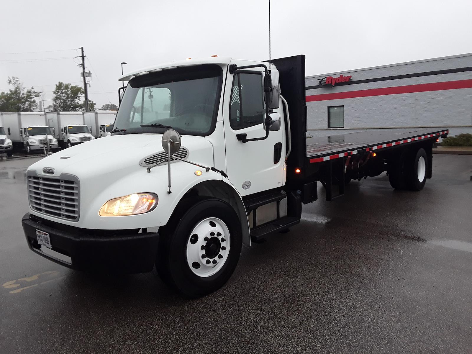 2014 Freightliner M2 106 4x2, Platform Body #539772 - photo 8