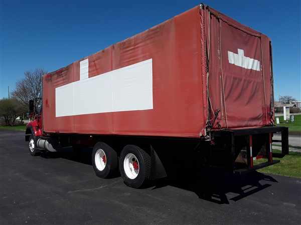 2012 International WorkStar 7600 6x4, Morgan Dry Freight #571862 - photo 1