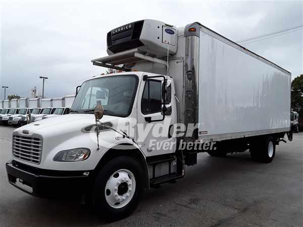2013 Freightliner M2 106 4x2, Morgan Refrigerated Body #505823 - photo 1