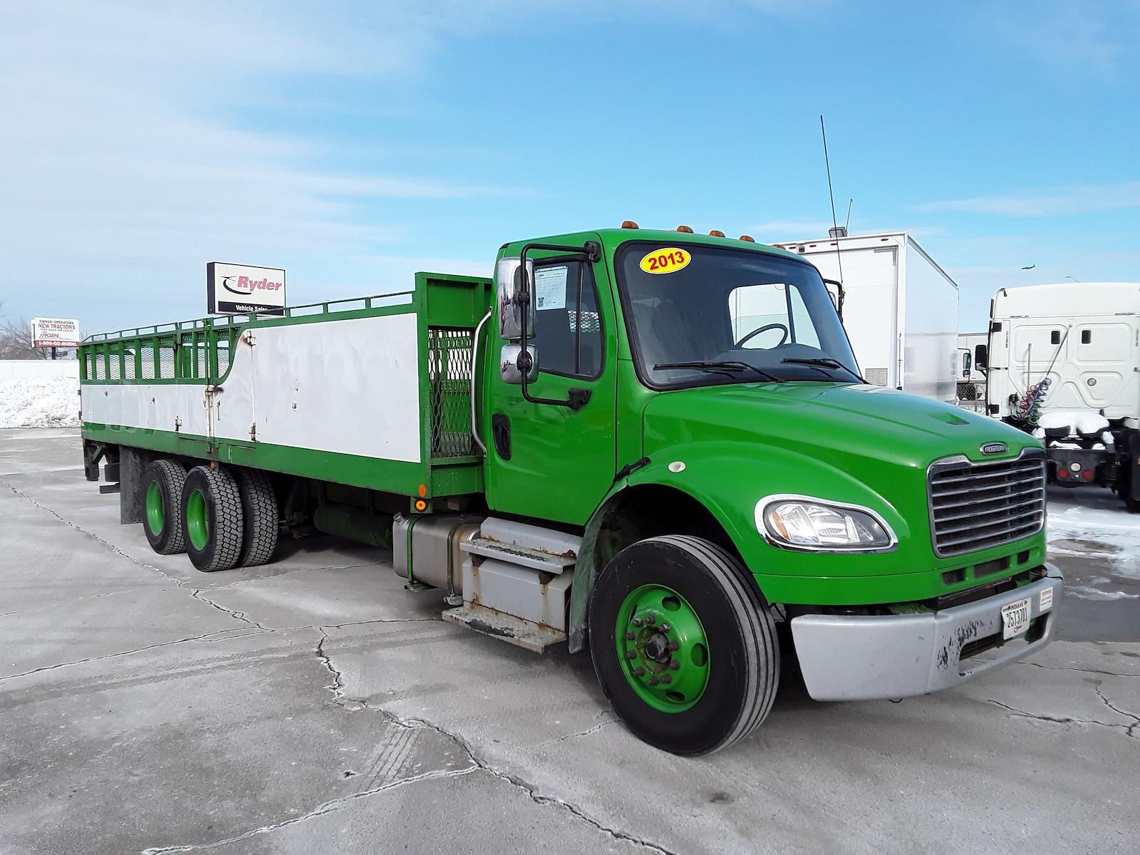2013 Freightliner Truck 6x4, Stake Bed #515558 - photo 4