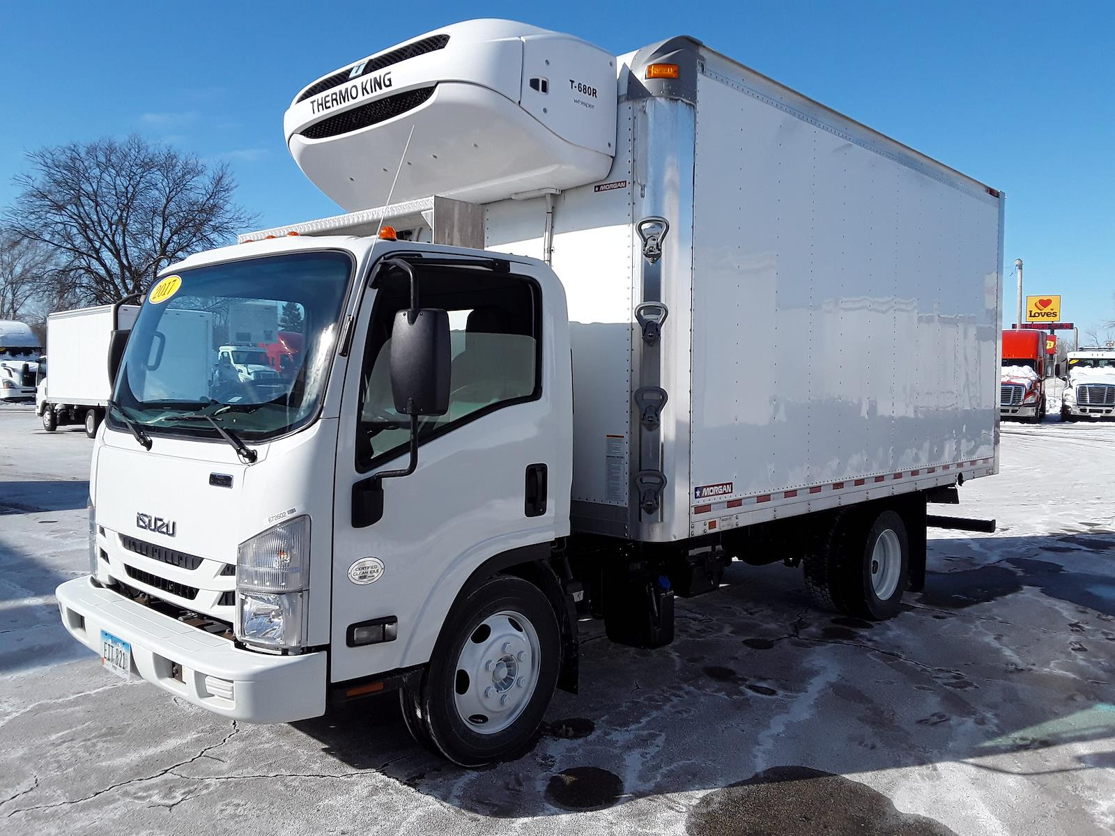 2017 Isuzu NPR-XD Regular Cab 4x2, Refrigerated Body #672602 - photo 1