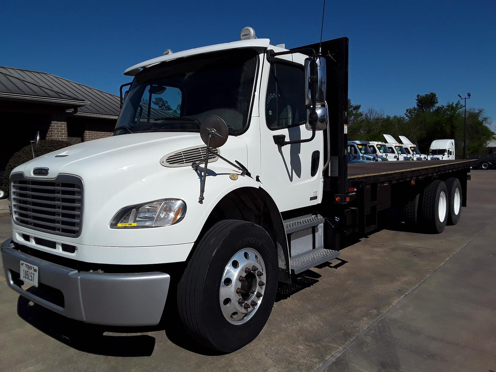 2012 Freightliner M2 106 6x4, Platform Body #437430 - photo 1