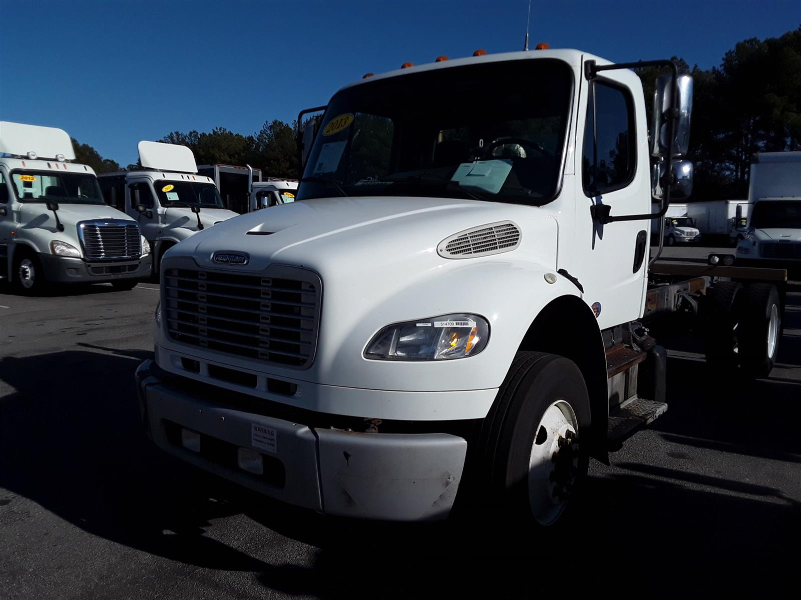 2013 Freightliner M2 106 4x2, Cab Chassis #514709 - photo 1