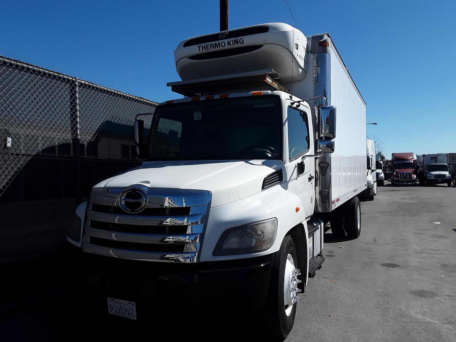 2014 Hino Truck, Refrigerated Body #536363 - photo 1