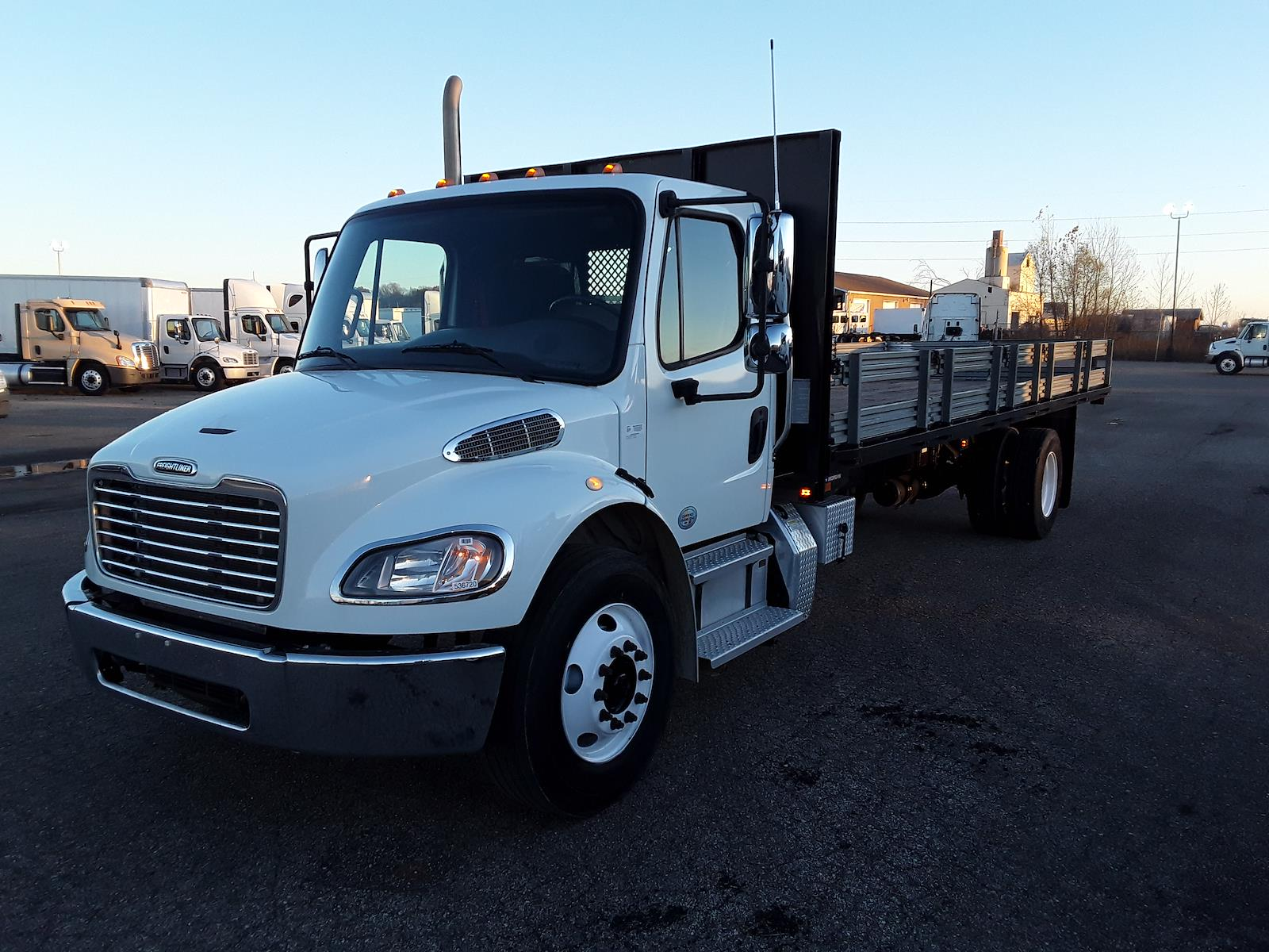 2014 Freightliner M2 106 4x2, Platform Body #536720 - photo 1
