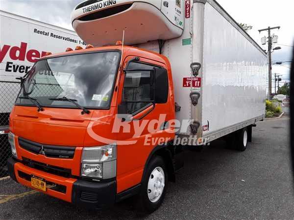 2012 Mitsubishi Fuso Truck, Thermo King Refrigerated Body #488587 - photo 1