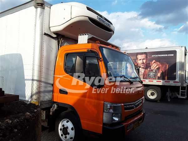 2012 Mitsubishi Fuso Truck, Refrigerated Body #488594 - photo 1