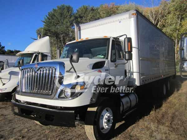 2012 International WorkStar 7600 6x4, Morgan Dry Freight #407917 - photo 1