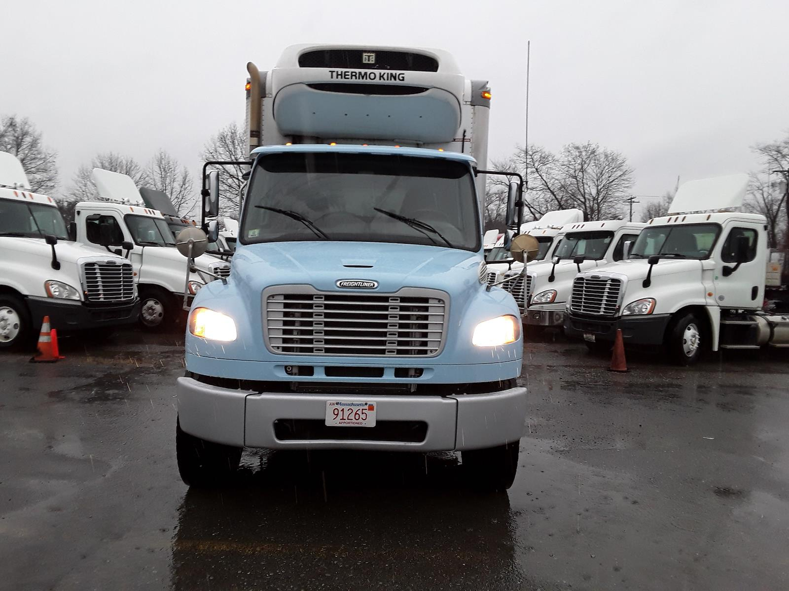 2015 Freightliner M2 106 6x4, Refrigerated Body #573640 - photo 1