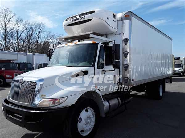 2011 International DuraStar 4300 4x2, Morgan Refrigerated Body #630314 - photo 1