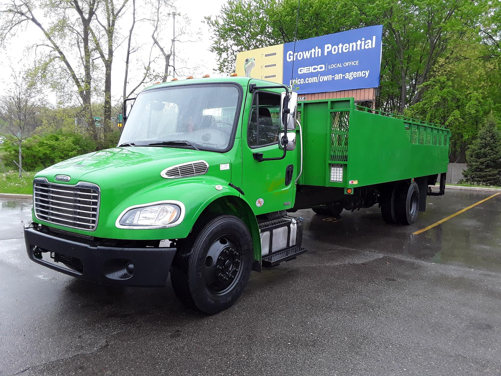 2012 Freightliner M2 106 4x2, Stake Bed #445324 - photo 1
