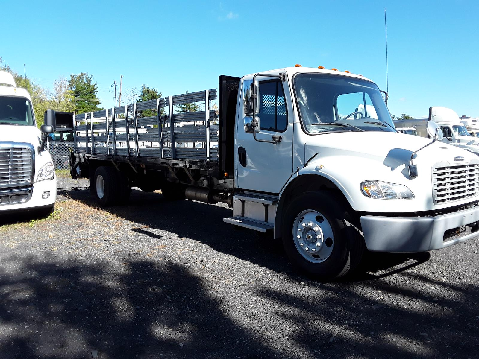 2013 Freightliner M2 106 4x2, Stake Bed #497879 - photo 4