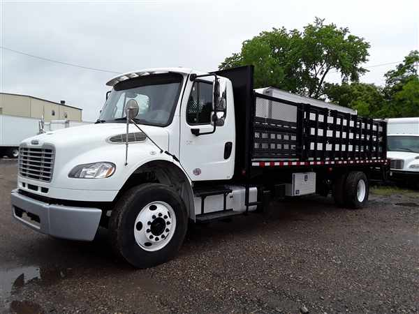 2014 Freightliner M2 106 4x2, Stake Bed #518437 - photo 1