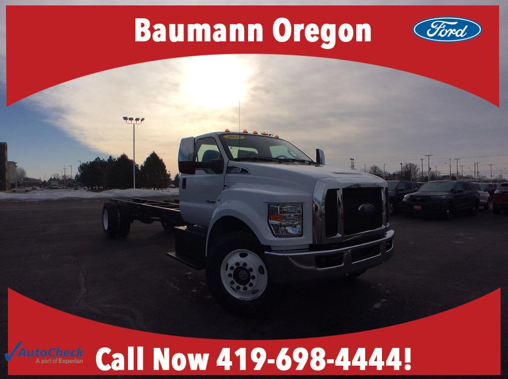 2021 Ford F-650 Regular Cab DRW 4x2, Cab Chassis #49624 - photo 1
