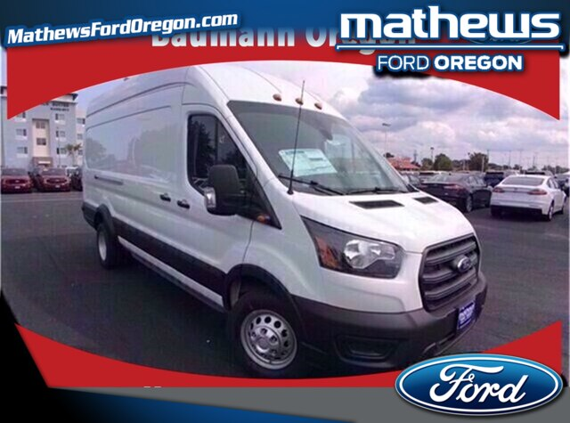2020 Ford Transit 350 HD High Roof DRW RWD, Empty Cargo Van #49670 - photo 1