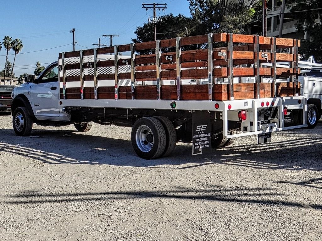 2019 Ram 5500 Regular Cab DRW 4x4, Scelzi Stake Bed #RM193244 - photo 1