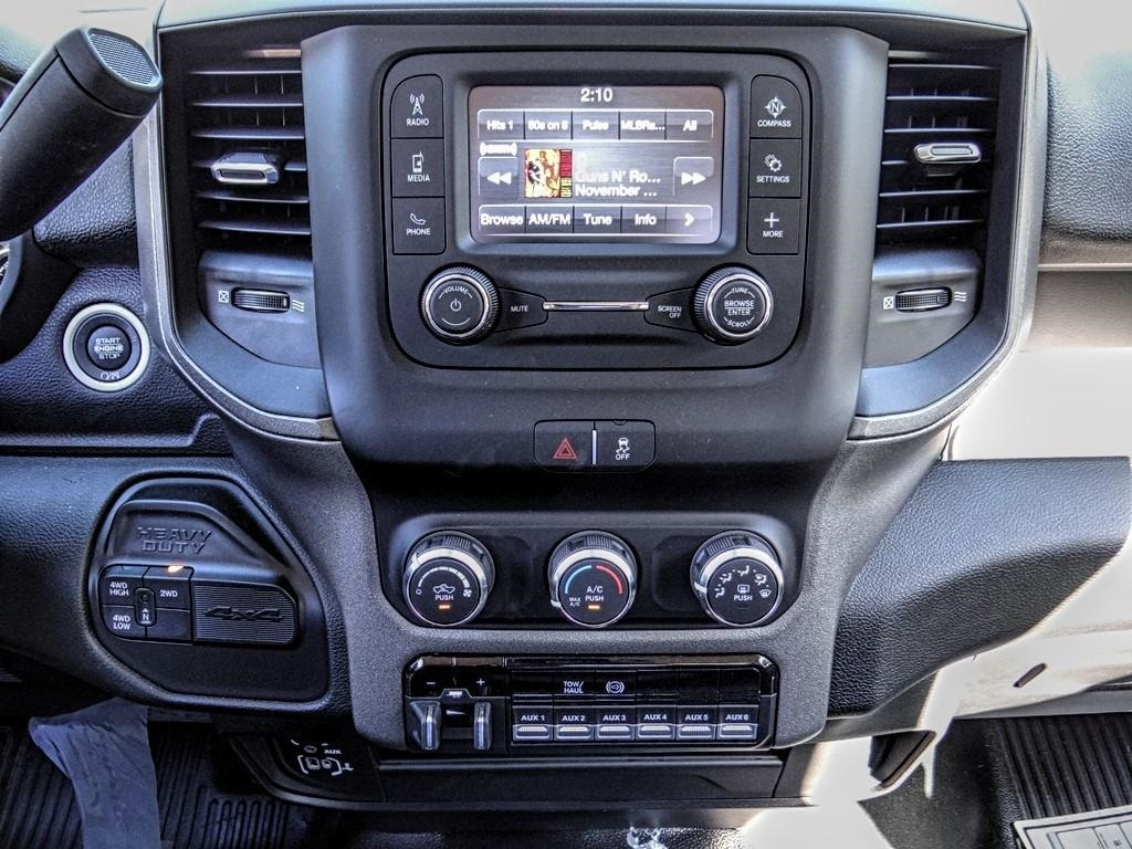 2019 Ram 5500 Regular Cab DRW 4x4, Scelzi WFB Stake Bed #RM193244 - photo 8