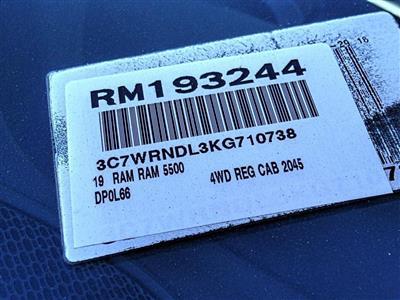 2019 Ram 5500 Regular Cab DRW 4x4, Scelzi WFB Stake Bed #RM193244 - photo 16