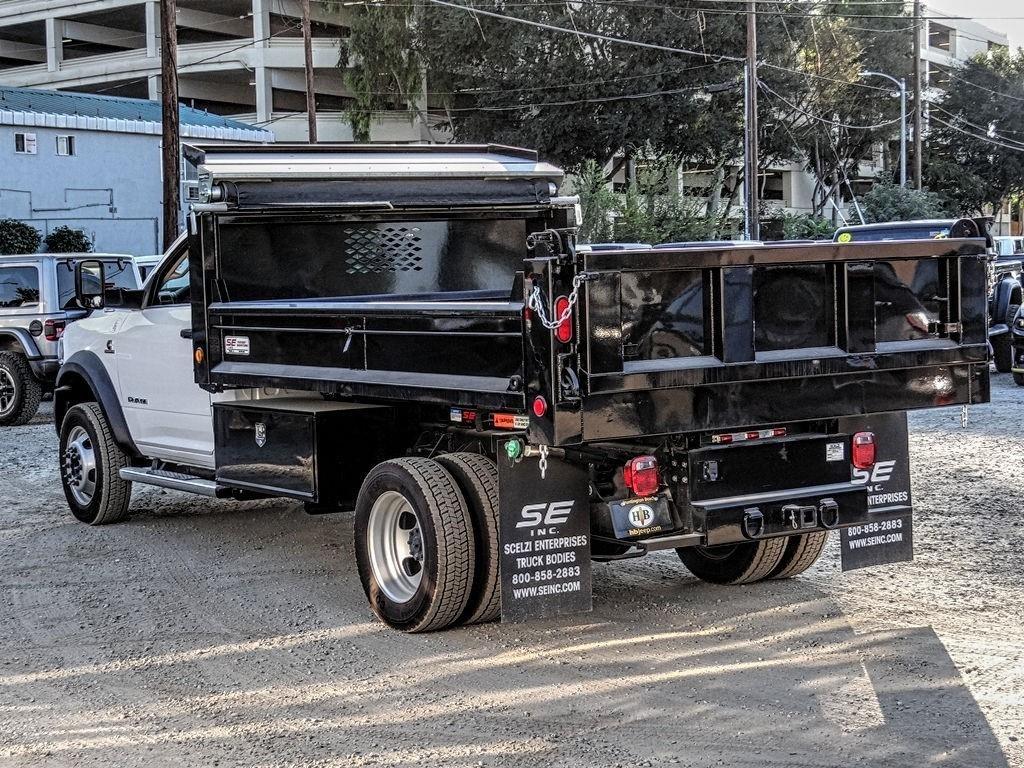 2019 Ram 5500 Regular Cab DRW 4x2, Scelzi Dump Body #RM193248 - photo 1