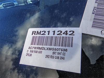 2021 Ram 5500 Regular Cab DRW 4x2, Scelzi SFB Platform Body #RM211242 - photo 19
