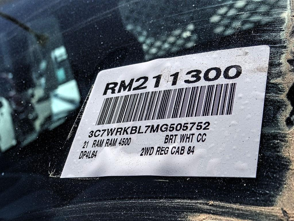 2021 Ram 4500 Regular Cab DRW 4x2, Scelzi CTFB Contractor Body #RM211300 - photo 18