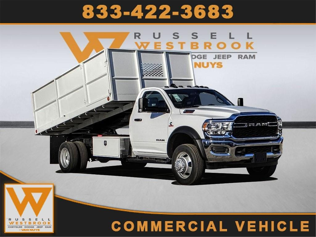2021 Ram 5500 Regular Cab DRW 4x2, Scelzi Landscape Dump #RM211319 - photo 1