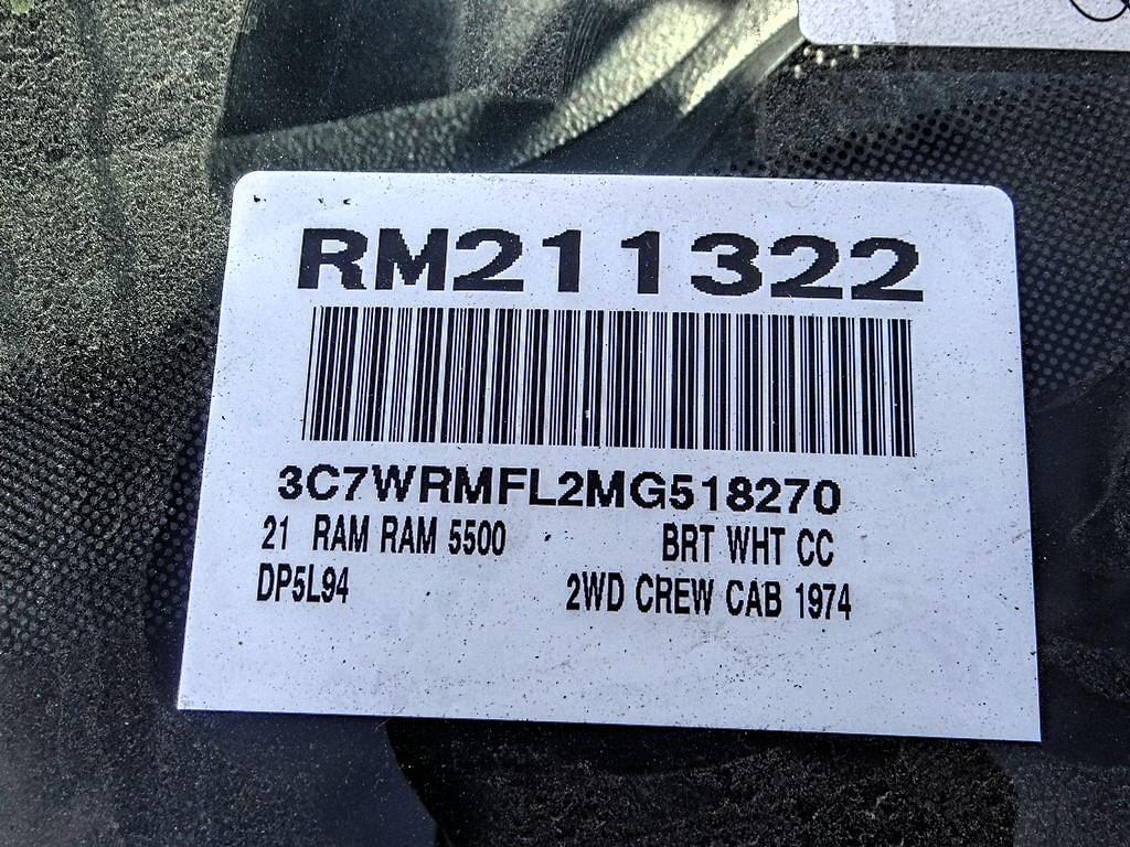 2021 Ram 5500 Crew Cab DRW 4x2, Scelzi Signature Welder Body #RM211322 - photo 17