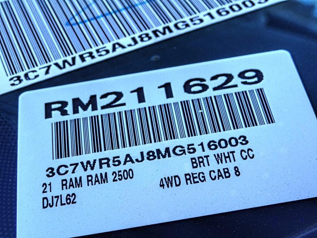 2021 Ram 2500 Regular Cab 4x4, Scelzi Crown Service Body #RM211629 - photo 20