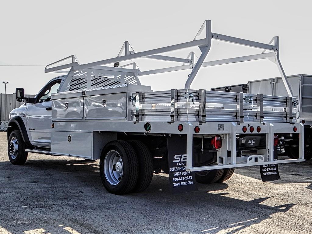 2021 Ram 5500 Regular Cab DRW 4x4, Scelzi Contractor Body #RM212305 - photo 1