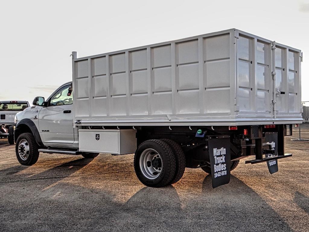 2019 Ram 5500 Regular Cab DRW 4x4, Martin Truck Bodies Landscape Dump #RM223266 - photo 1