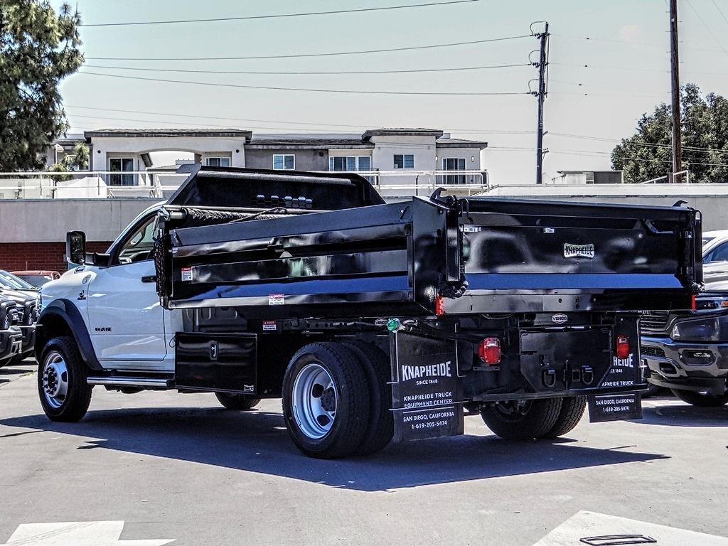 2020 Ram 5500 Regular Cab DRW 4x4, Knapheide Dump Body #RM23174 - photo 1