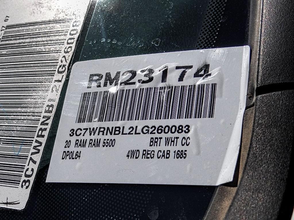 2020 Ram 5500 Regular Cab DRW 4x4, Knapheide Dump Body #RM23174 - photo 17